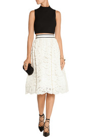 Kizzy guipure lace skirt