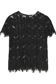 Emmaline guipure lace top