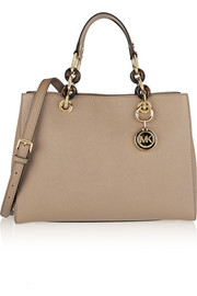 MICHAEL Michael Kors Cynthia medium textured-leather tote