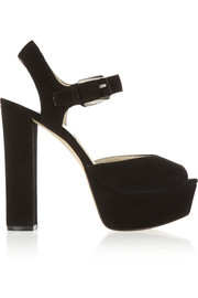 MICHAEL Michael Kors London suede platform sandals