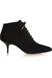 Talulah suede ankle boots