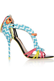 Sophia Webster Liberty printed leather sandals
