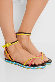 Luca leather sandals