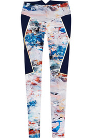 Nordica printed stretch leggings