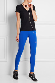 Technical Knit stretch leggings
