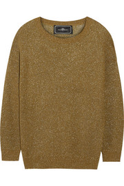 Jocon metallic knitted sweater