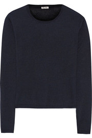 Miu Miu Cashmere and silk-blend sweater