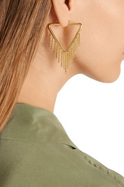 Marc by Marc Jacobs Beat It gold-plated earrings