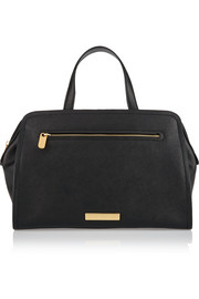 Luna Alaina textured-leather tote