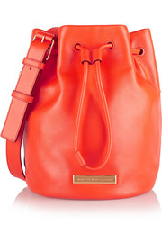 Luna leather bucket bag