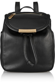 Luna mini leather backpack