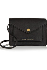 Marc by Marc Jacobs Metropoli textured-leather shoulder bag
