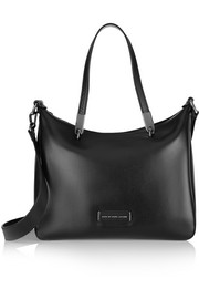Metropoli Ninja leather tote