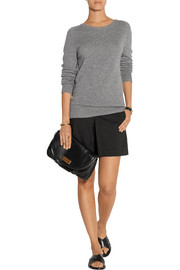 Marc by Marc Jacobs Classic Q Natasha textured-leather clutch