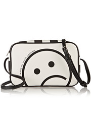 Marc by Marc Jacobs Sally Unsmiley printed faux leather shoulder bag