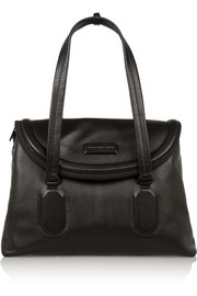 Silicone Valley textured-leather tote