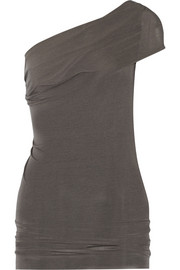 Rick Owens One-shoulder jersey top