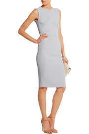 Sesia wool-crepe dress