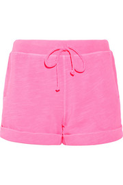 Splendid Cotton-terry shorts