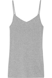 Supima cotton and Micro Modal-blend tank