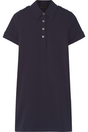 Marc by Marc Jacobs Stretch-twill polo mini dress