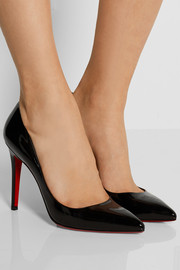 Pigalle 100 patent-leather pumps