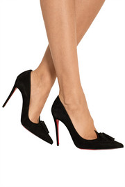 Gwalior 100 tasseled suede pumps