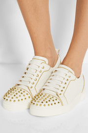 Christian Louboutin Rush 30 spiked leather sneakers