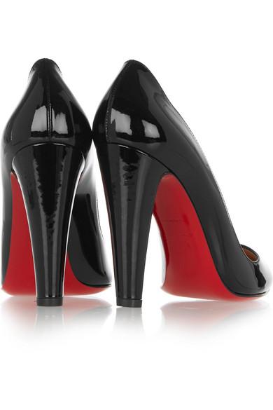 christian louboutin mens shoes replica - Christian Louboutin | Requipump 100 patent-leather pumps | NET-A ...