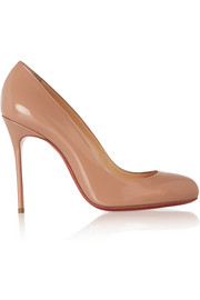 Fifi 100 patent-leather pumps