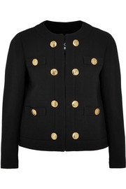 Boutique Moschino Wool-crepe jacket