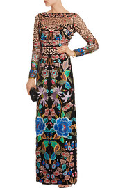 Temperley London Baudelaine embroidered tulle gown