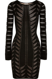 Temperley London Beau open-knit mini dress