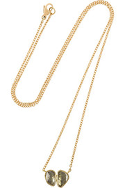 Brooke Gregson 18-karat gold diamond necklace