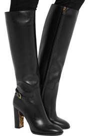 Burberry Shoes & Accessories Leather knee boots