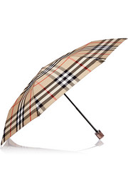 Trafalgar checked umbrella