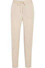 Helmut Lang Stretch-crepe tapered pants