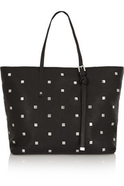 Sasha studded leather tote