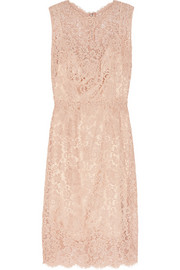 Dolce & Gabbana Floral-lace dress