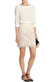 Dolce & Gabbana Lace mini skirt
