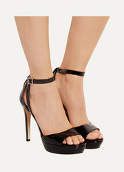 Kayden patent-leather sandals