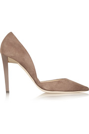 Jimmy Choo Darylin suede pumps