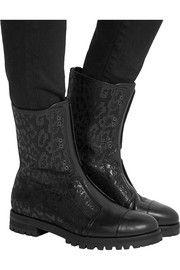 Hatcher perforated leather boots