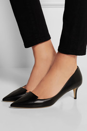 Allure leather pumps