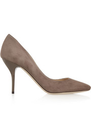 Jimmy Choo Mei suede pumps