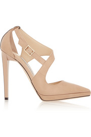 Jimmy Choo Vinse patent-leather pumps