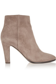 Mass suede ankle boots