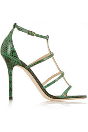 Jimmy Choo Dory elaphe sandals