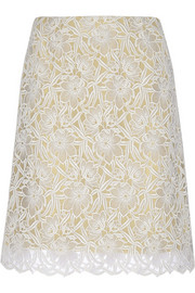 Macram� lace skirt