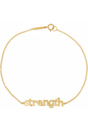 Strength 18-karat gold bracelet